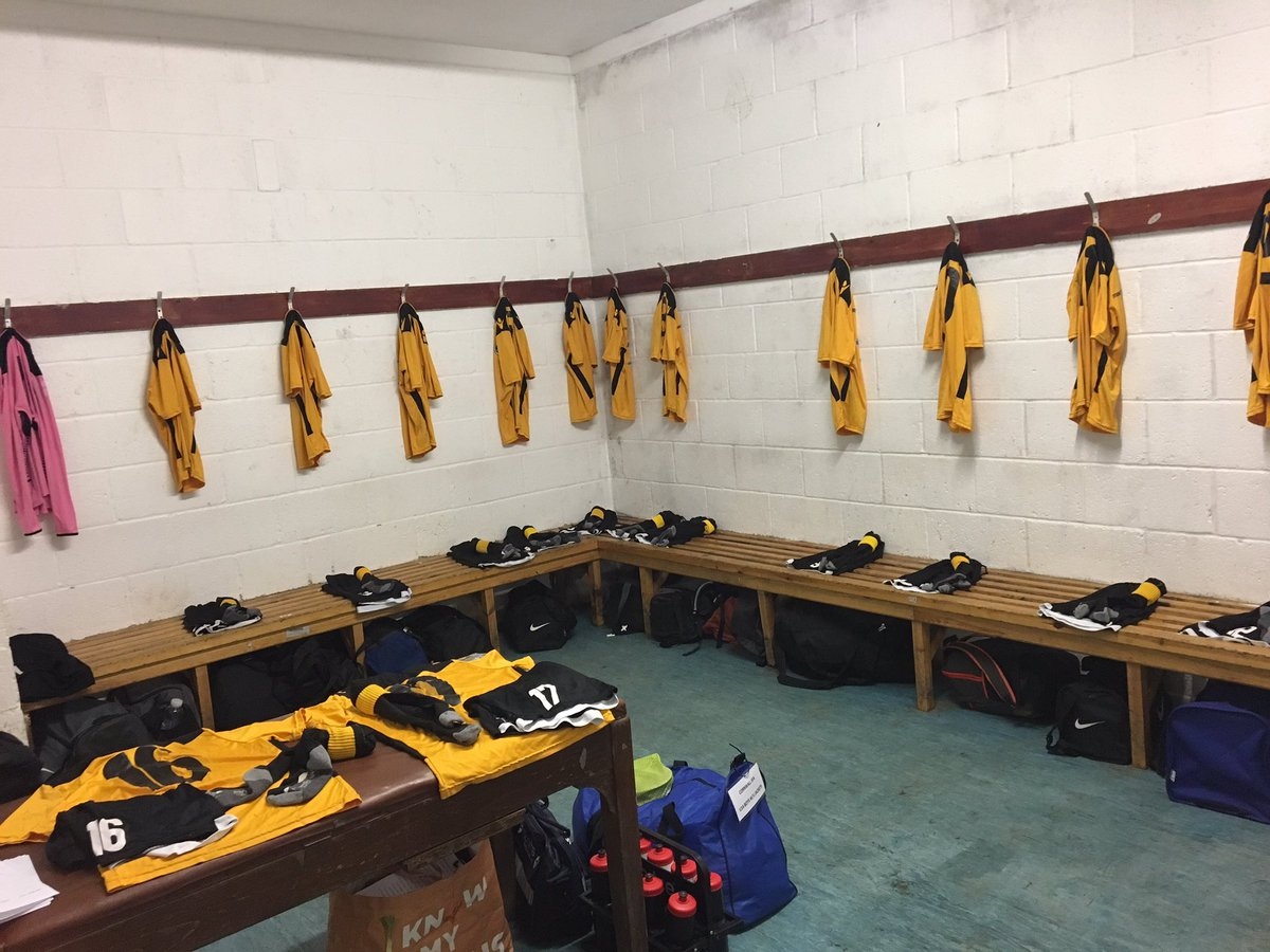 Changing Room Preparation