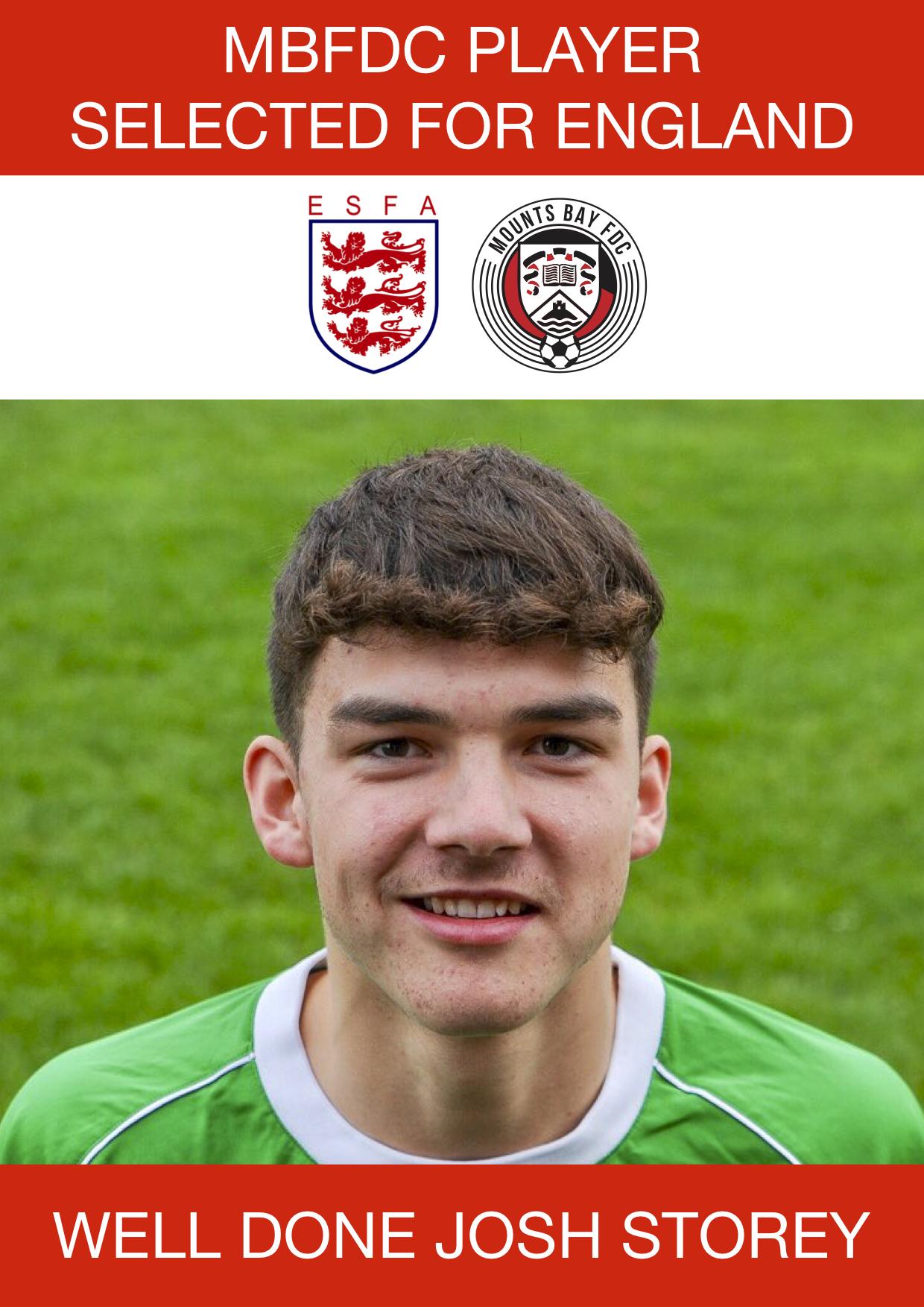 Josh Storey England